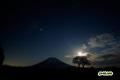 月夜の星空