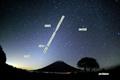 土星と黄道光
