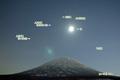 羊蹄山月・天王星・人工衛星