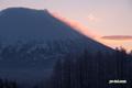 羊蹄山/朝焼け