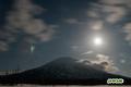 羊蹄山とさそり座・木星