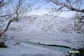 残雪の長沼