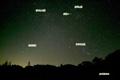 神仙沼の星空~冬の代表的な星座(ぎょしゃ・おうし・ふたご・オリオン)と火星