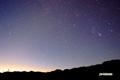 神仙沼の星空~ふたご座・オリオン座・こいぬ座