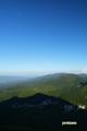ニセコ連峰東部と残月