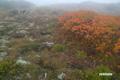霧の火口原~秋