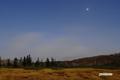 月明かりの湿原・金星