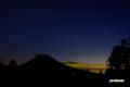 夕空の水星