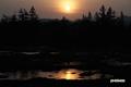 神仙沼湿原~朝陽
