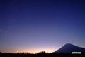 月・金星・羊蹄山