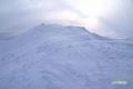 ニセコアンヌプリ山頂付近