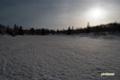 残雪の神仙沼