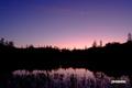 神仙沼~朝焼け