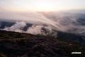 雲~日の出前