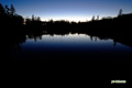 夜明けの神仙沼