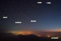 ISS(国際宇宙ステーション)と北の星空~おおぐま座・こぐま座・りょうけん座・おうし座