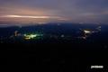 羊蹄山からの夜景(京極町・喜茂別町他)
