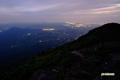 羊蹄山からの夜景(留寿都村・洞爺湖町他)