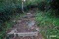 登山道の修復部