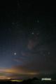金星・木星・ペルセウス座・ぎょしゃ座・おうし座・ふたご座・オリオン座