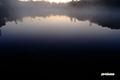 日の出前の神仙沼