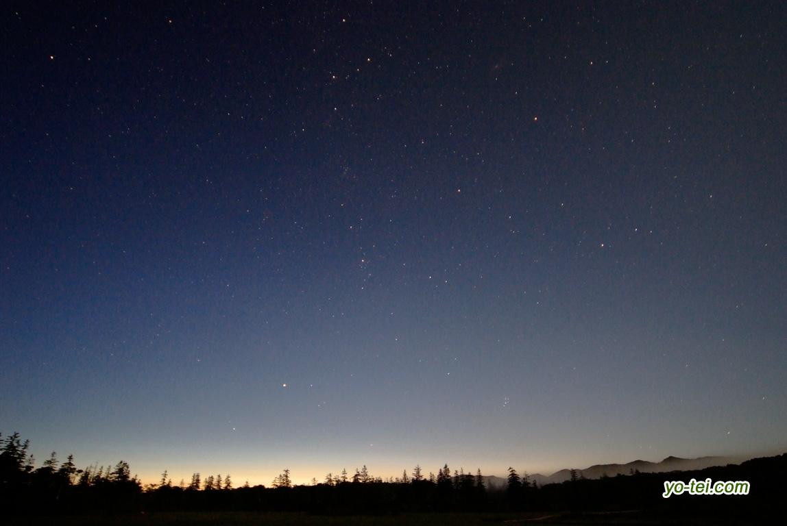 夜明けのペルセウス