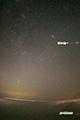 増光する人工衛星