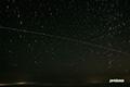 ISS(国際宇宙ステーション)と北天の星座(おおぐま座・こぐま座・カシオペヤ座他)