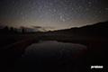 湿原の星空~池塘のオリオン