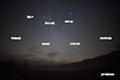 湿原の星空~冬の星座