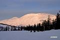 朝焼けのシャクナゲ岳