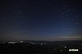 月明かりの風景~ISS(国際宇宙ステーション)