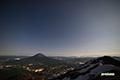 月明かりの風景~羊蹄山