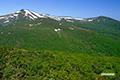 目国内岳と岩内岳