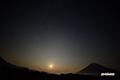 月没・流星・羊蹄山