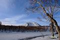 残雪の神仙沼・チセヌプリ