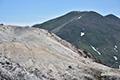 イワオヌプリとニセコアンヌプリの山頂部