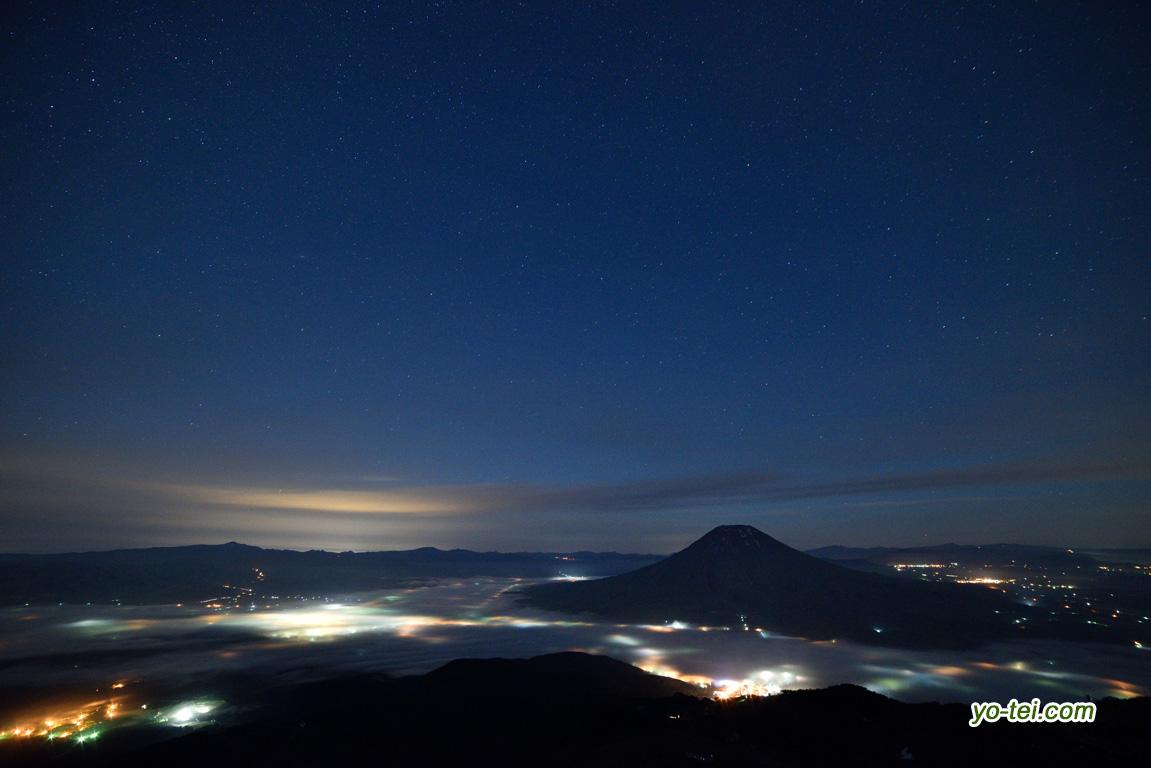 倶知安町夜景