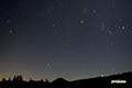 月夜~湿原の星空~冬の大三角