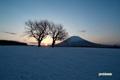 羊蹄山~日の出