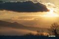 ニセコ町東山の日の出