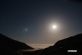 雲海を照らす月と木星等