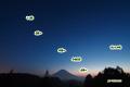 夕空の三惑星~水星・金星・土星