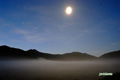 霧の大谷地・月・火星