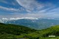 昆布岳方向の雲・空