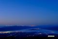 夜明け前の蘭越町