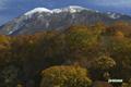 半月湖からの羊蹄山
