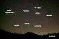 羊蹄山とホームズ彗星他