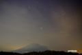 羊蹄山と火星