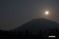 月・木星・羊蹄山